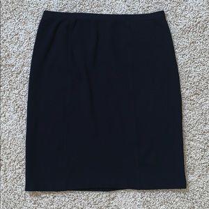 Jones New York Ribbed Pencil Skirt